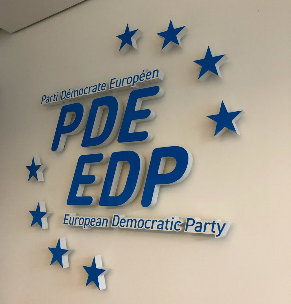 2021-European-Democratic-Party-office-sign